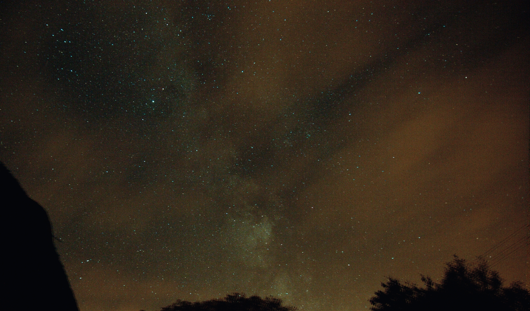 Galactic Centre from Mayo